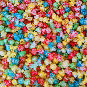 4 color kettle corn