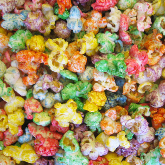6 color kettle corn