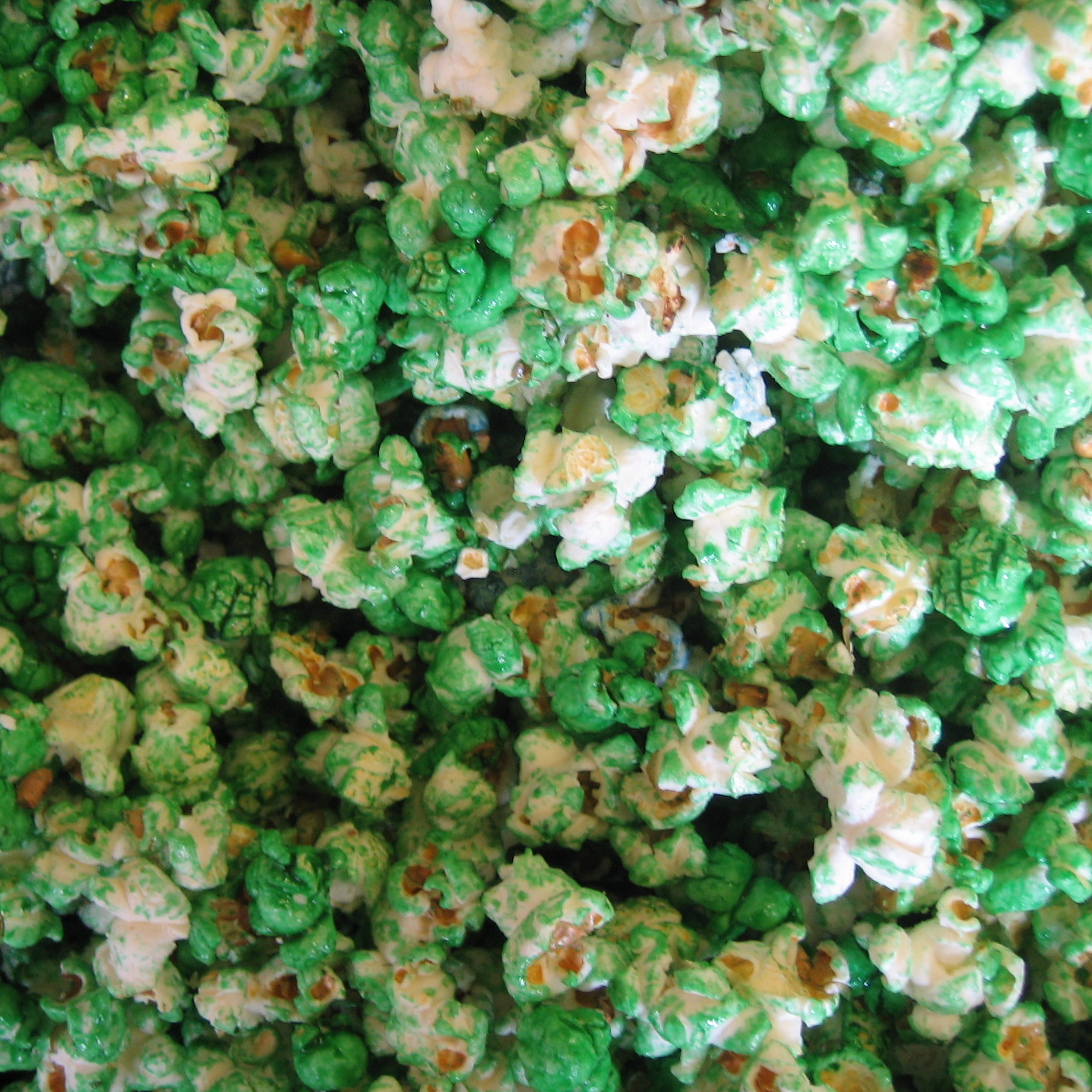 green kettle corn