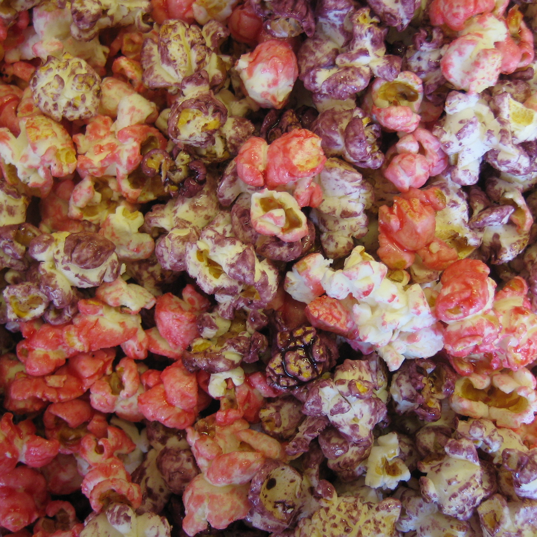 hawaiian air colored kettle corn