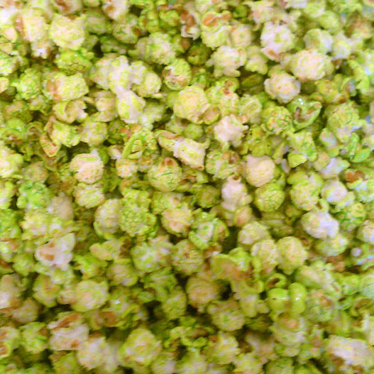 lime green kettle corn