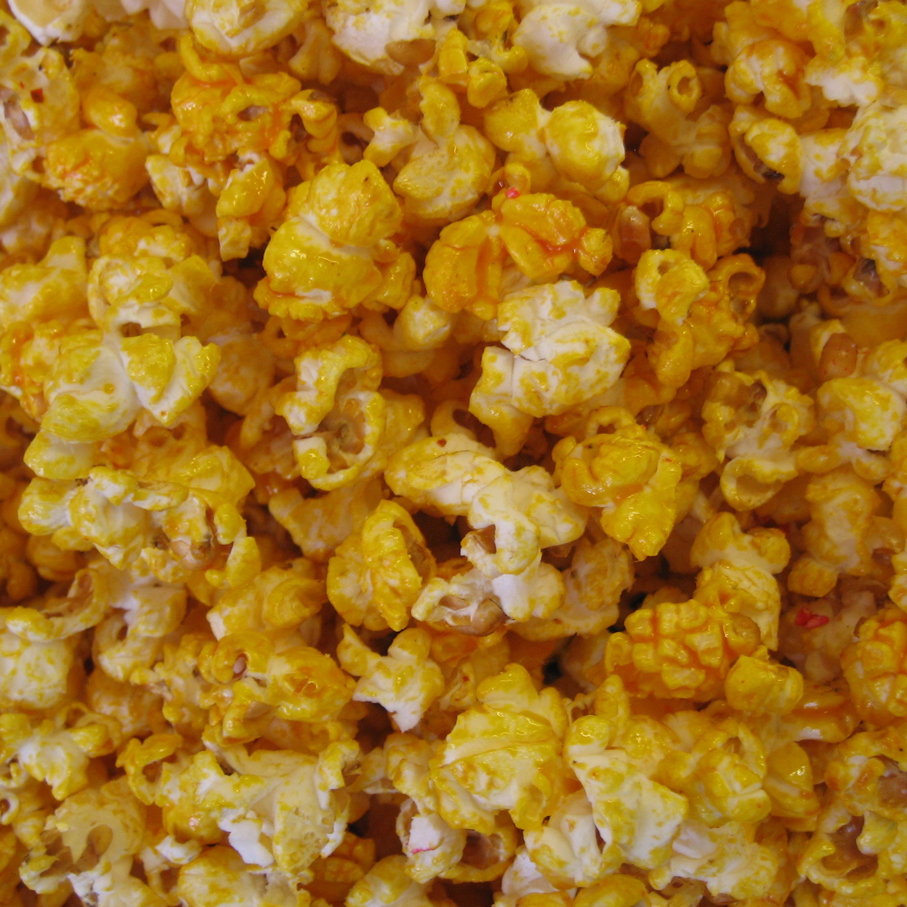 yellow kettle corn